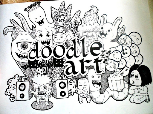 Make Use of Your Free Time with Calligraphy & Doodle Art